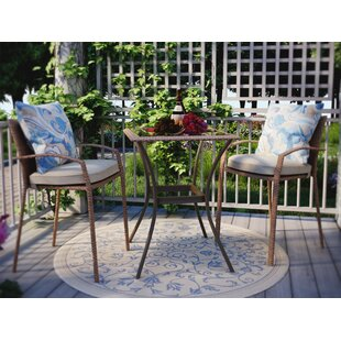 Edwards 3 Piece Bistro Set