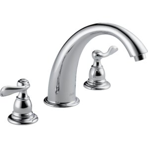 lahara roman tub faucet. Windemere Double Handle Deck Mount Roman Tub Faucet Trim Bathtub Faucets You ll Love  Wayfair
