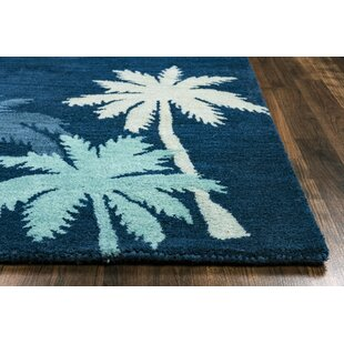 Minnie Hand Tufted Navy Area Rug