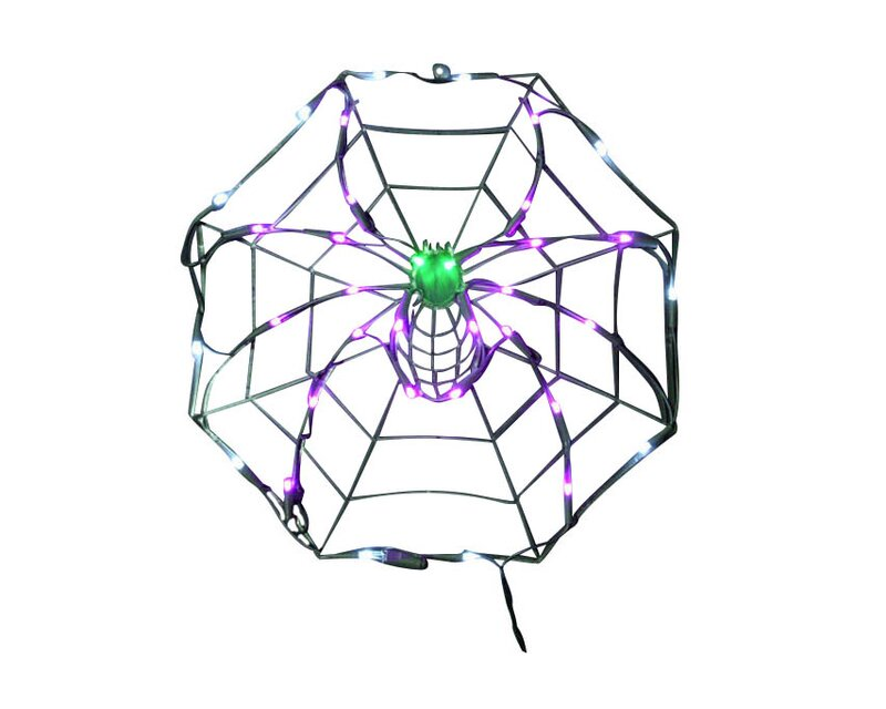 Queens Of Christmas 18 Halloween Spider Web With 35 Multicolored