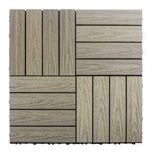 Outdoor Deck Tiles Amp Planks You Ll Love Wayfair