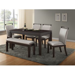 bench kitchen dining room sets youll love wayfair. beautiful ideas. Home Design Ideas