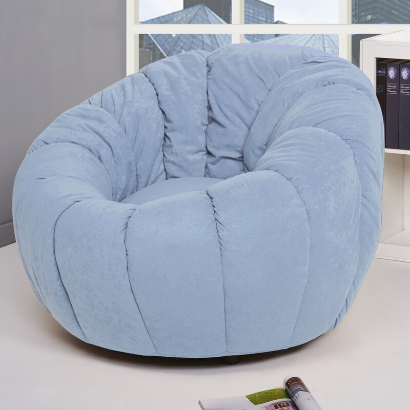 Lara Swivel Pumpkin Papasan Chair