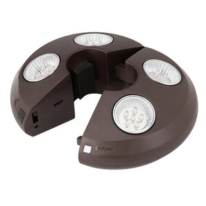 Rechargeable Umbrella Light In Bronze