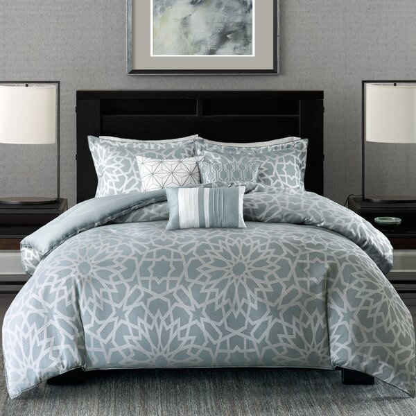 Latitude Run Kane 7 Piece Comforter Set Amp Reviews Wayfair