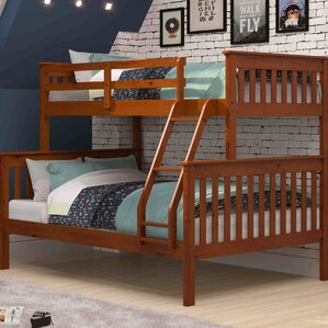 bunk loft beds youll love wayfair - Bunk Bed Frames