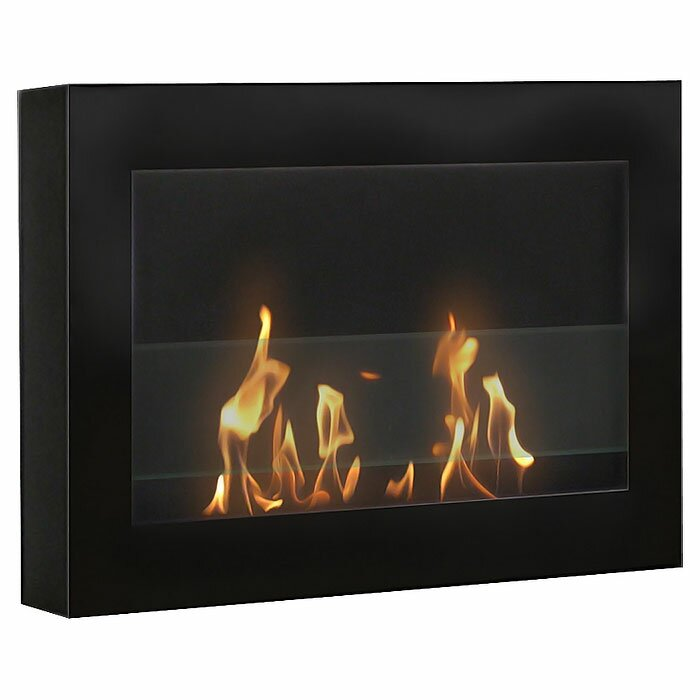 Anywhere Fireplace SoHo Wall Mount Bio Ethanol Fireplace