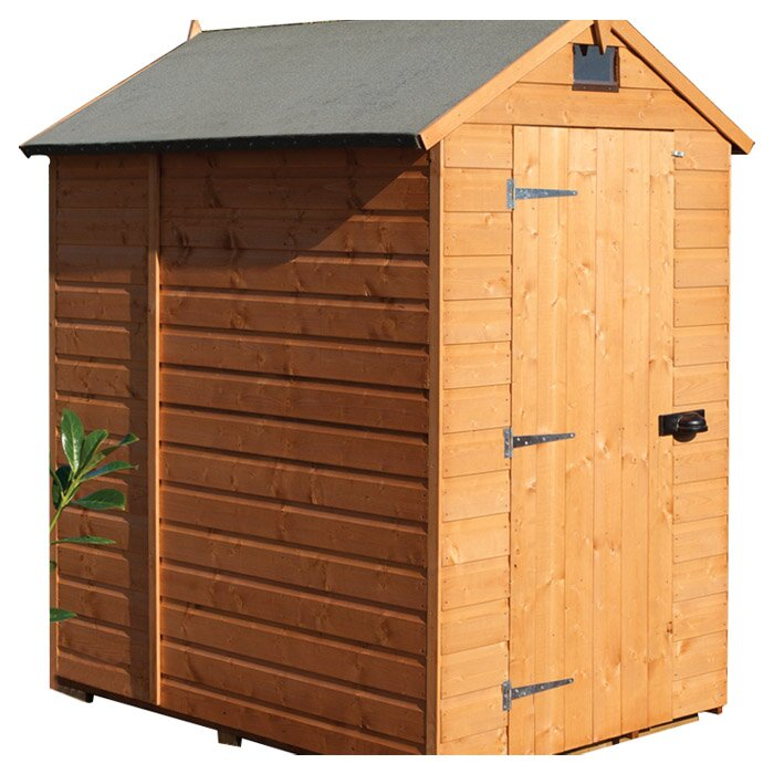 Rowlinson 4 X 6 Wooden Storage Shed Amp Reviews Wayfair Co Uk