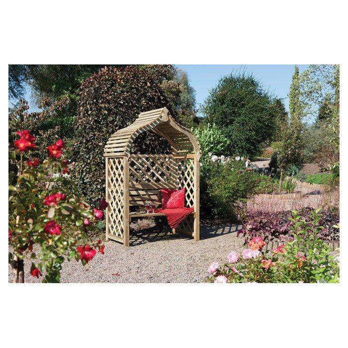 Kitchen Garden Jaipur: Rowlinson Jaipur 2 Seater Timber Arbour & Reviews