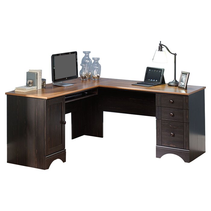 Beachcrest Home Pinellas Corner Executive Desk With