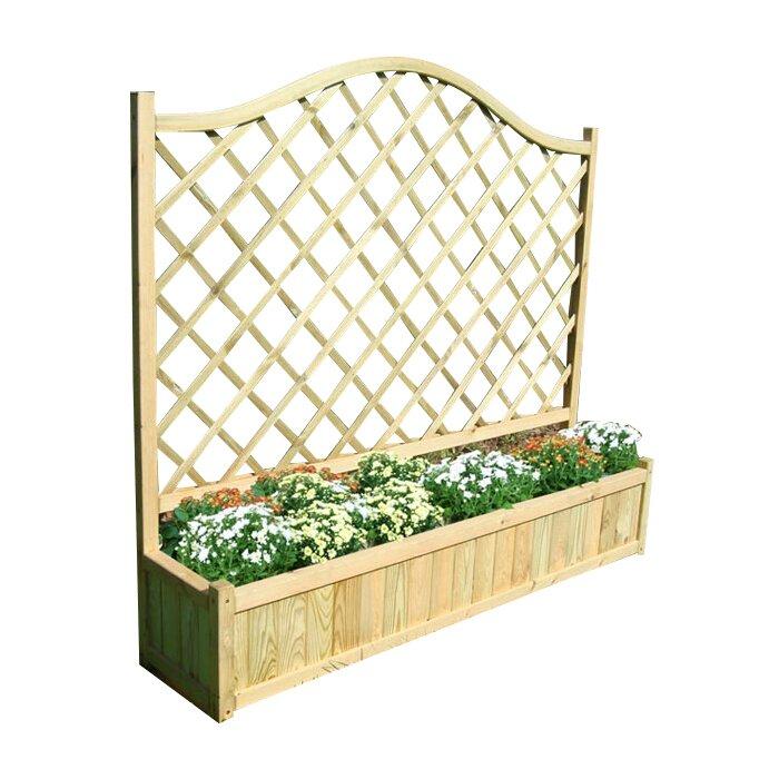 zest 4 leisure pflanzkasten mit spalier bewertungen. Black Bedroom Furniture Sets. Home Design Ideas