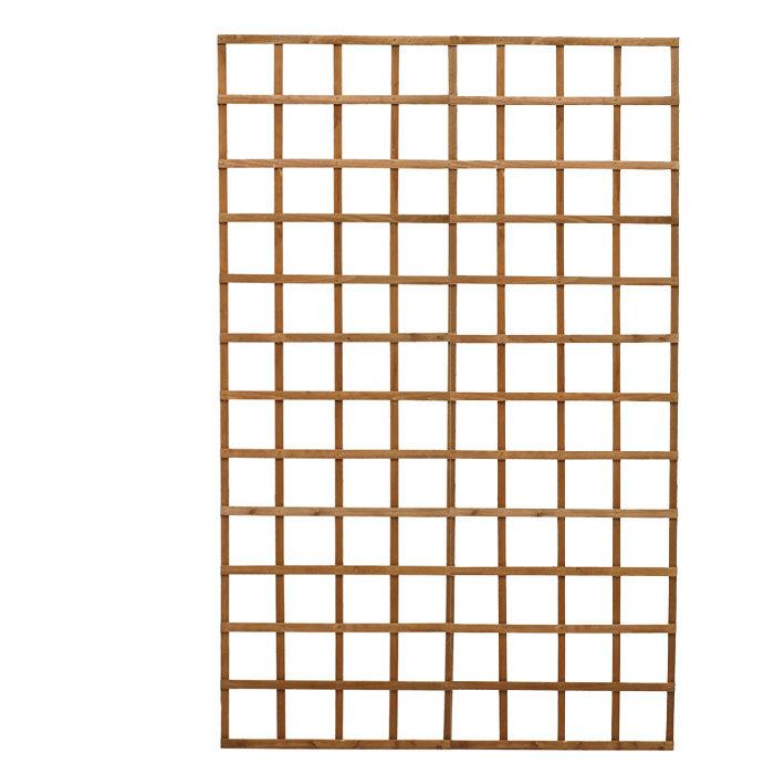 Wood Lattice Panel Trellis - Diamond Teak Wood Lattice Panel Trellis & Reviews Wayfair