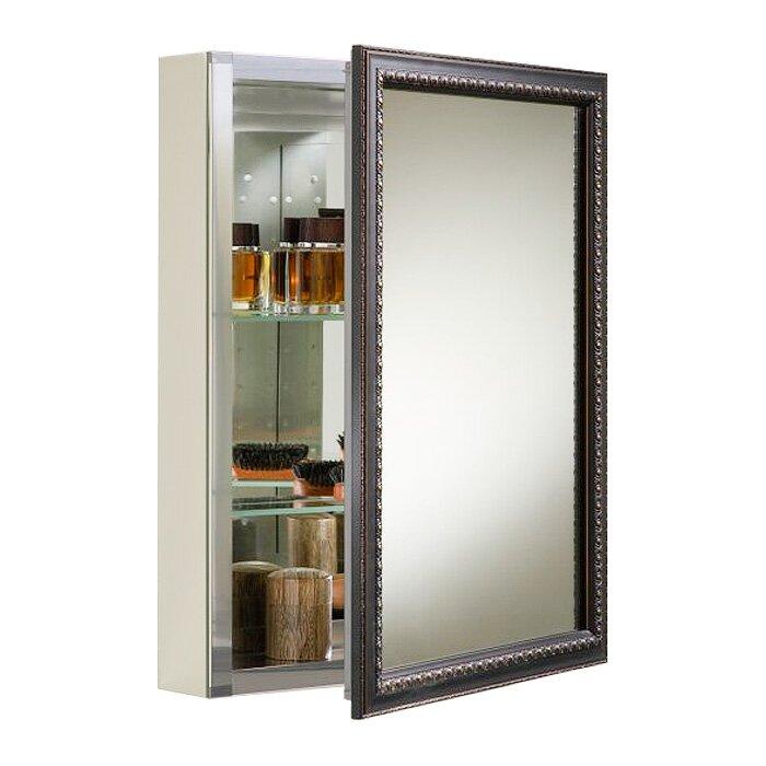 kohler 20 x 26 wall mount mirrored medicine cabinet with mirrored door reviews wayfair. Black Bedroom Furniture Sets. Home Design Ideas