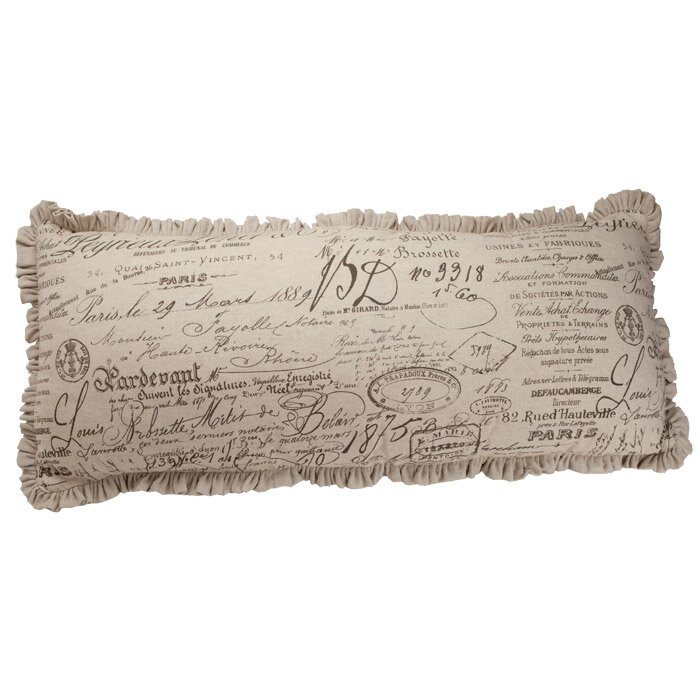 French Script Dog Beds