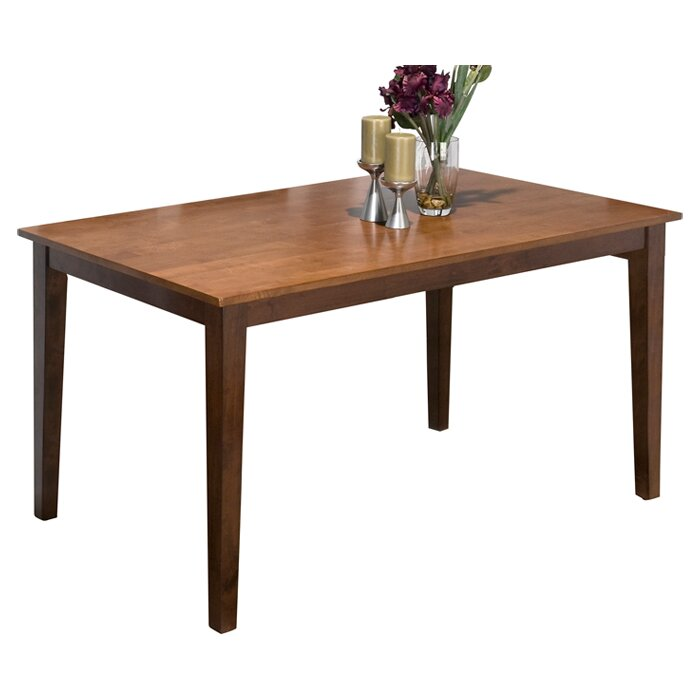 Jofran dining table reviews wayfair for Cie 85 table 4