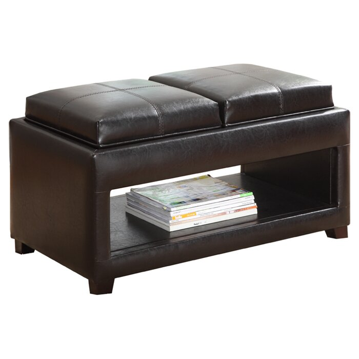 Elyn Flip Top Storage Ottoman - Hokku Designs Elyn Flip Top Storage Ottoman & Reviews Wayfair