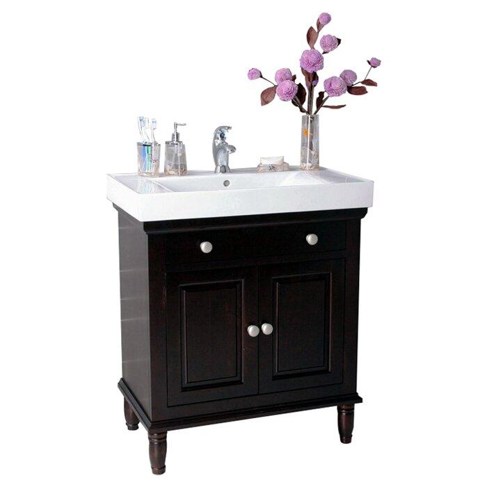 "Lanza 30"" Single Bathroom Vanity Set & Reviews | Wayfair"