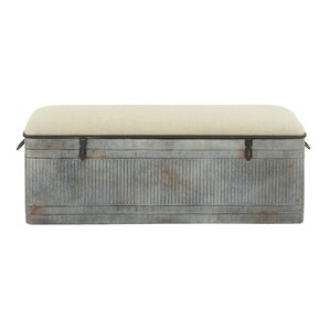 Fabric Storage Bedroom Bench