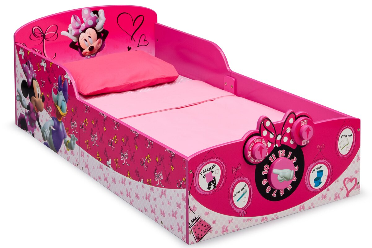 Minnie Mouse Toddler Bed. Girls  Beds   Wayfair