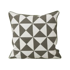 Modern 100% Cotton Throw Pillow