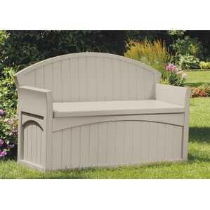 50 Gallon Resin Storage Bench