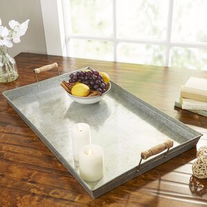 Poppleton Galvanized Metal Tray