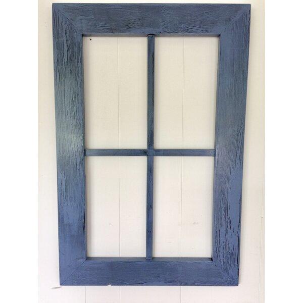 Rustic Window Pane Wall Decor | Wayfair