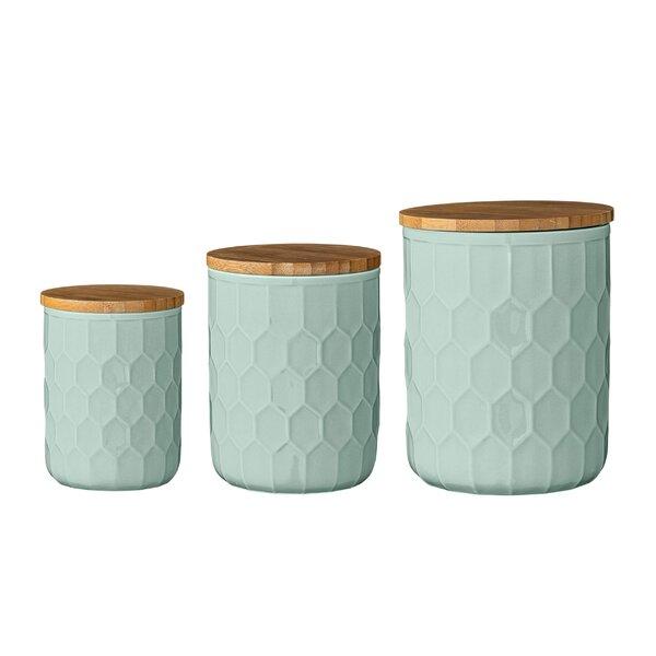 Green Kitchen Canisters U0026 Jars Youu0027ll Love | Wayfair