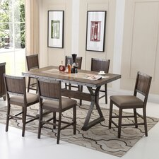 5 piece counter height dining set - Countertop Dining Room Sets