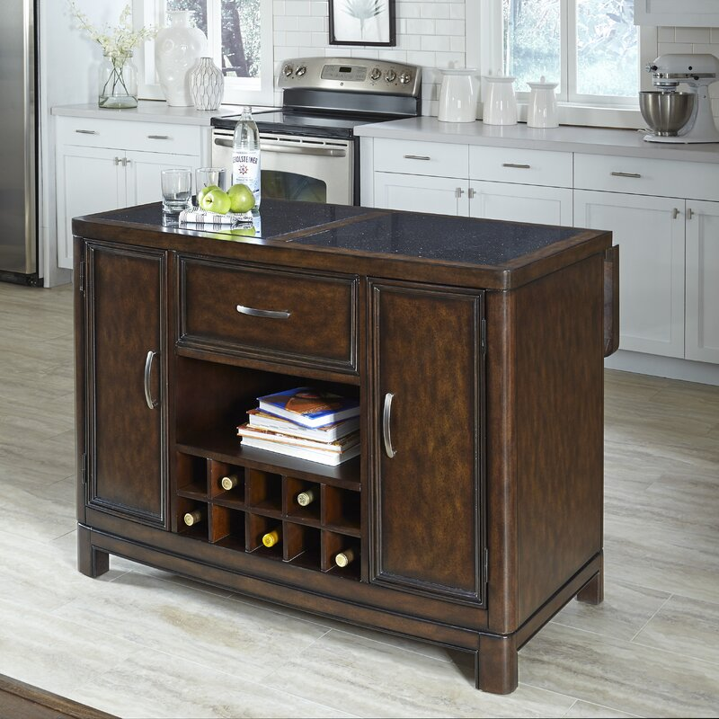 Kitchen Styles Names: Home Styles Crescent Hill Kitchen Island With Granite Top