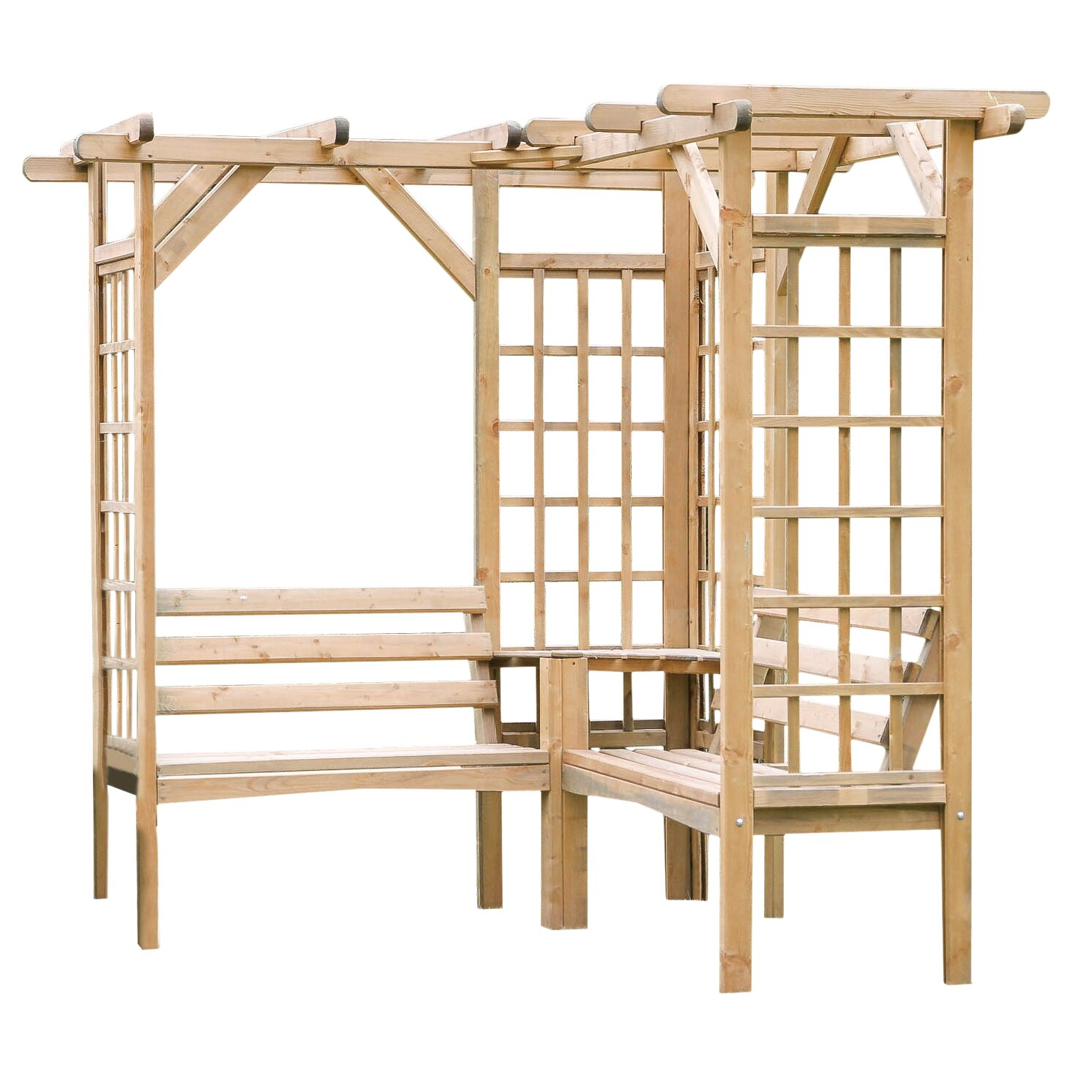 zest 4 leisure rosenbogen mit bank bewertungen. Black Bedroom Furniture Sets. Home Design Ideas