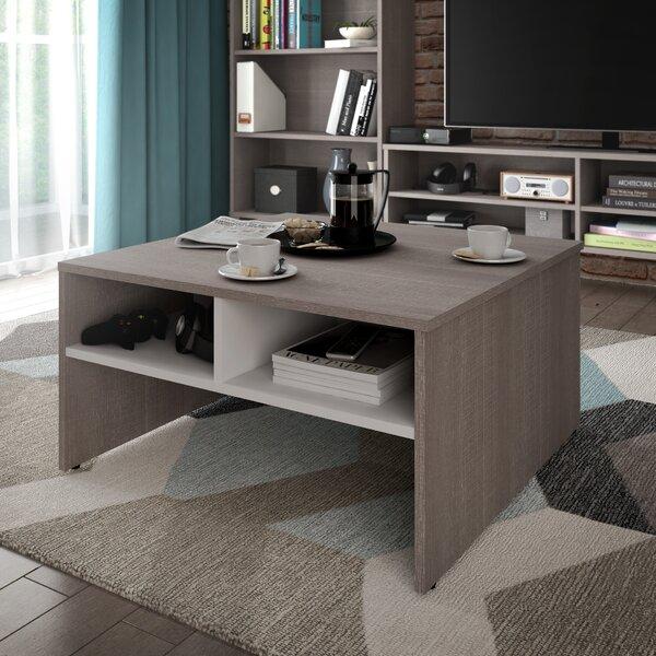 bestar small space storage coffee table & reviews | wayfair