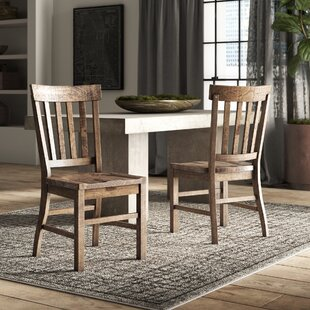 Filkins Solid Wood Dining Chair (Set of 2)