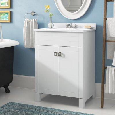 Left side sink vanity wayfair - Applebaum 24 single bathroom vanity set ...