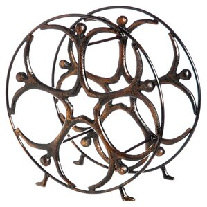 5 Bottle Tabletop Wine Rack by Cape Craft..
