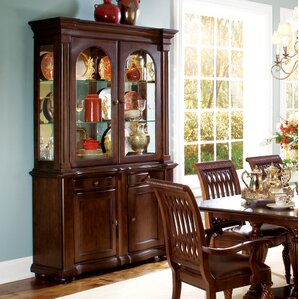 Belmont Lighted China Cabinet by Bernhardt