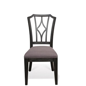 Paredes Upholstered Diamond Back Side Chair (Set of 2) by One Allium Way