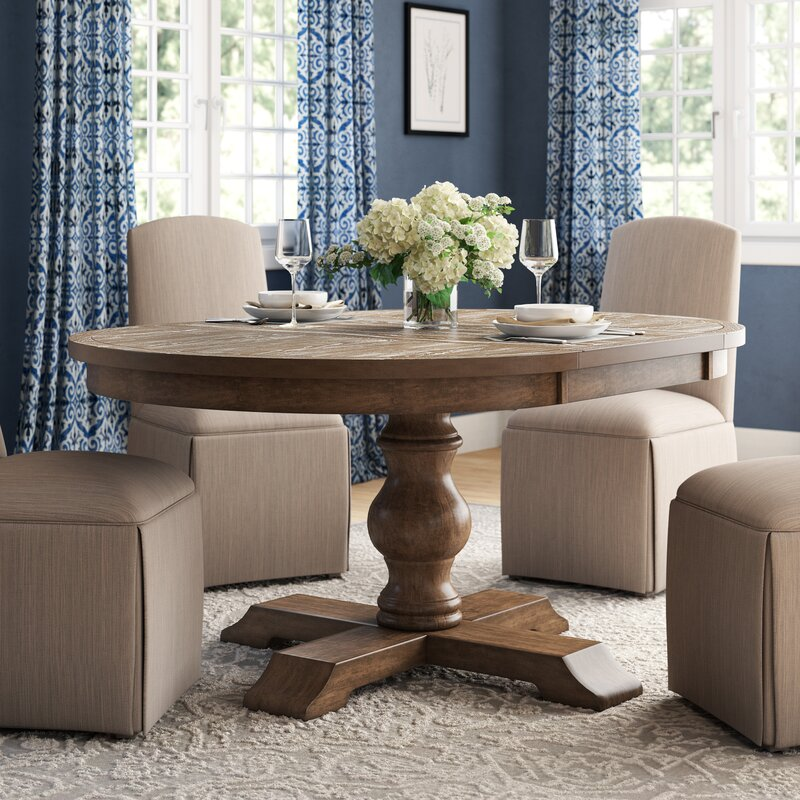 Fortunat Extendable Dining Table Amp Reviews Birch Lane