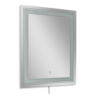 Frosted Rectangle LED Bathroom/Vanity Wall Mirror