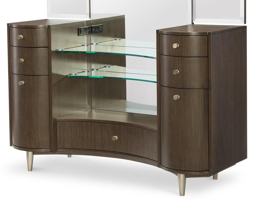 Tri Fold Wall Mirror rachael ray homelegacy classic sohorachael ray home vanity