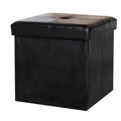 Cube Storage Ottoman With Tray Wayfair