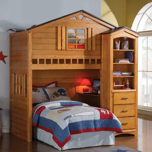 Tree House Loft Bed by ACME Furniture