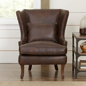 Leather Chairs You\'ll Love | Wayfair