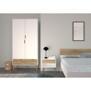 Zephyr 2 Drawer and 2 Door Armoire