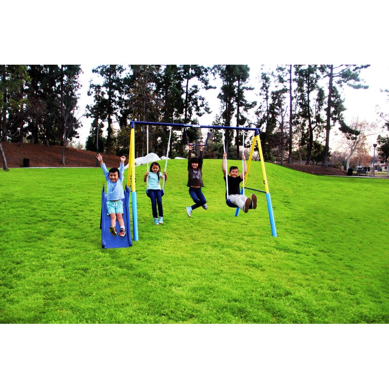 461d83af421fe Natus Inc Sportspower My First Swing Set & Reviews | Wayfair