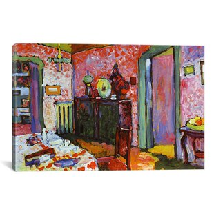 Gentil U0027Interior (My Dining Room)u0027 By Wassily Kandinsky Painting Print On Canvas