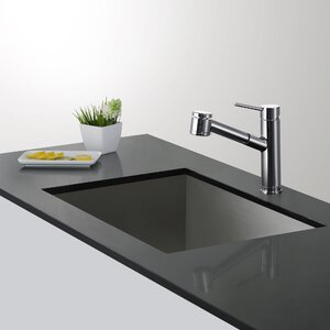 Olettou2122 Single Handle Pull Down Kitchen Faucet