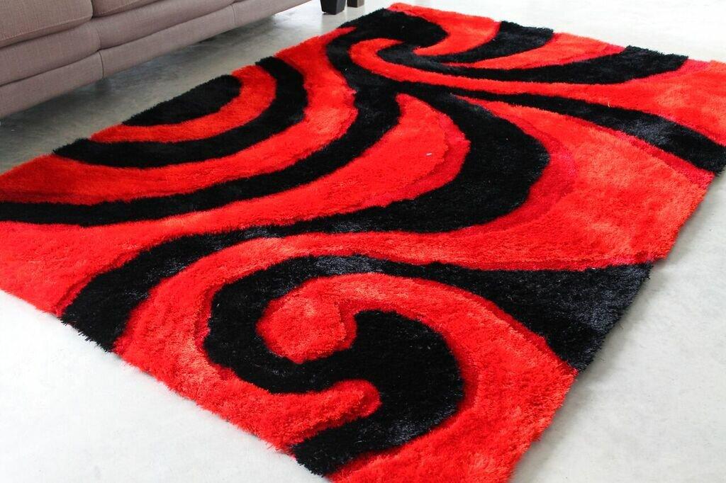 Blazing Needles Redblack Area Rug Reviews Wayfair