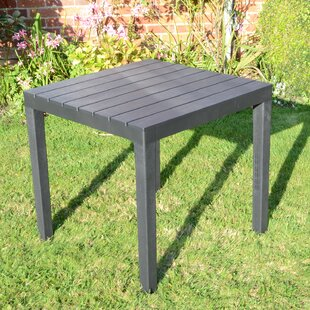 Orson Plastic Dining Table by Lynton Garden