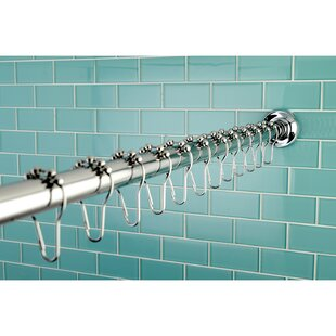 Edenscape 72 Adjustable Straight Shower Curtain Rod
